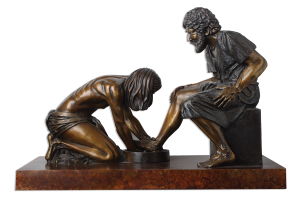 clean_feet_statue